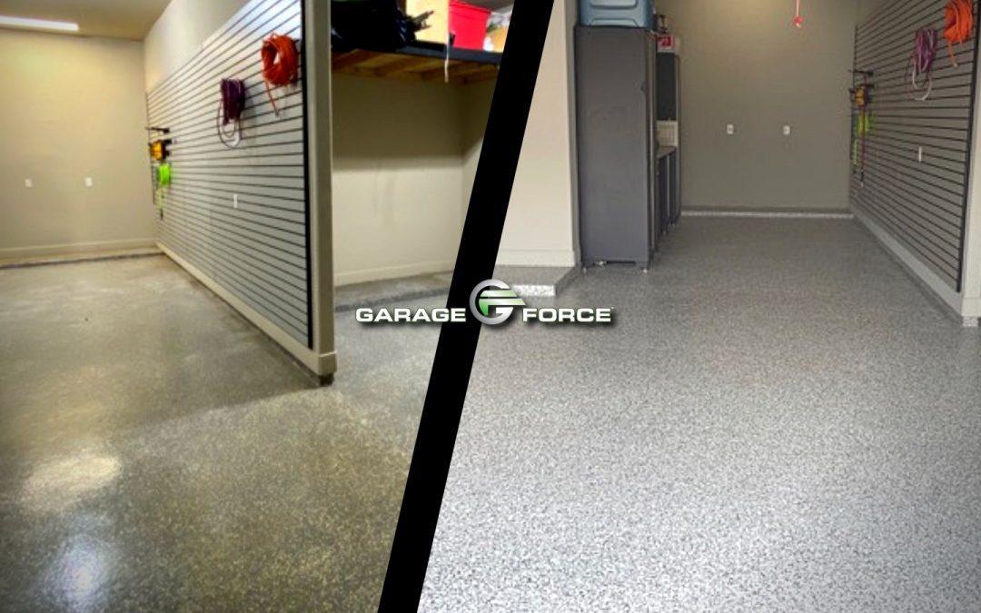 Garage Floor Makeover in Firethorne